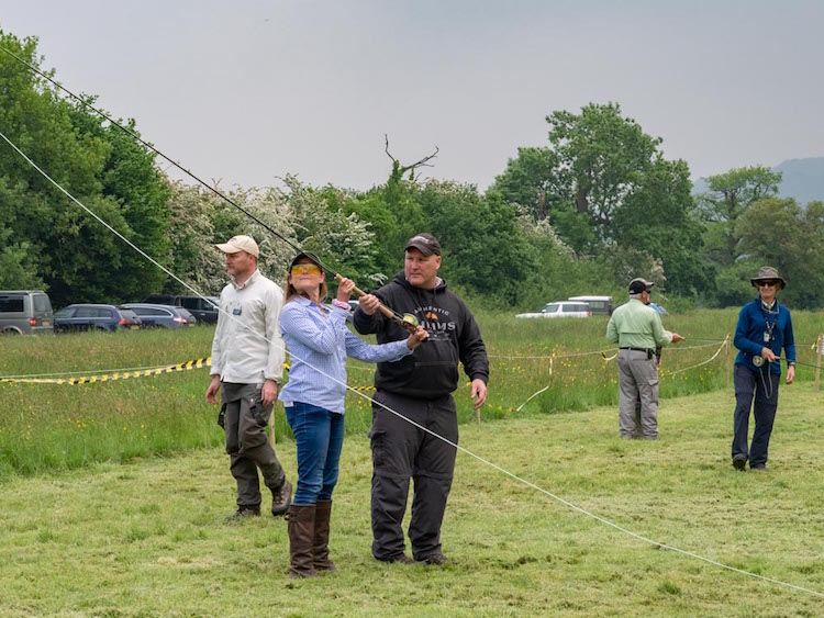 Gwent Angling Society Casting Clinic 2017