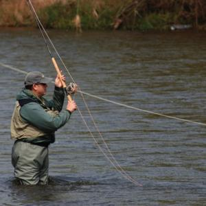 Getting Started With Salmon – Attaching The Leader