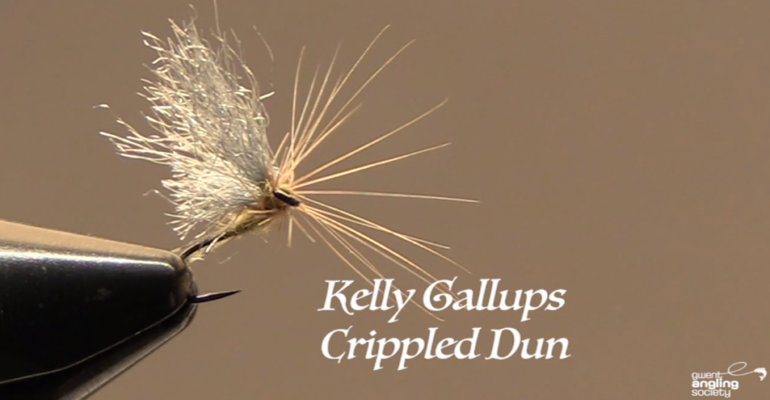 Kelly Galloup's, Crippled Dun
