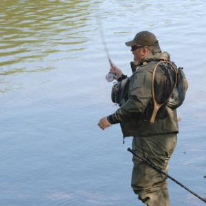 Spring Fishing on the River Usk