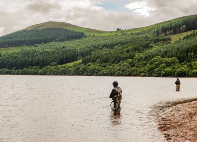 fishing talybont