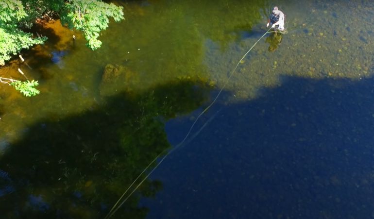 River Usk Ty Mawr Beat – Fishing in Wales VIDEO
