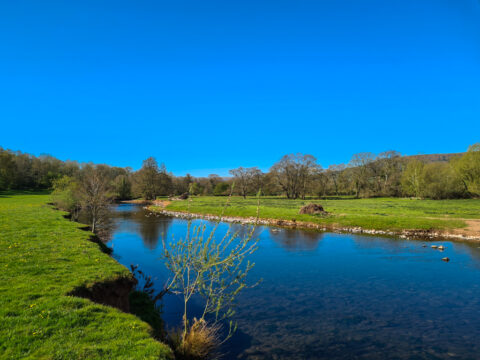 Fishing on the River Monnow